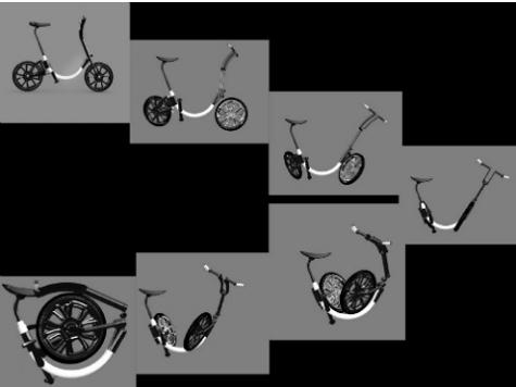 Придуман складной электровелосипед без цепи и воздуха в шинах
