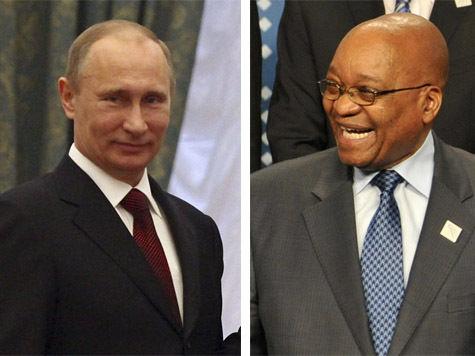 Служба безопасности Путина подралась с южноафриканской