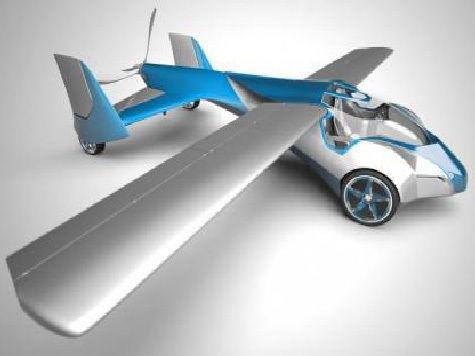 Словацкий инженер Стефан Клейн заявил о первом полете нового аэромобиля