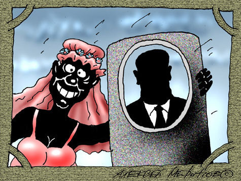 Батюшка обвенчал аферистку с покойником за 40 евро