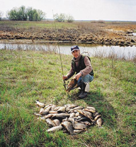 ловля пикером на реке