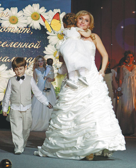 """Миссис-Москва 2013"" - многодетная мама"