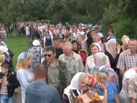 В Одинцово привезли крест Андрея Первозванного