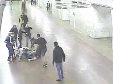 Студентка обстреляла пассажиров метро