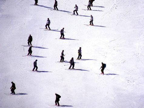 Кататься на лыжах в Москве небезопасно.