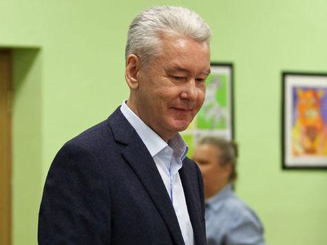 Собянин победил на выборах столичного градоначальника
