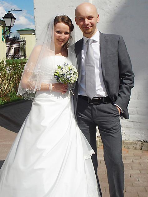 Ольга и Антон Вдовиченко. Фото с сайта клуба им. Петра и Февронии.
