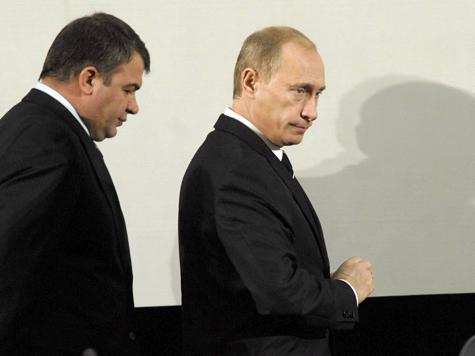 Кремлевский дворец «захватили» военные