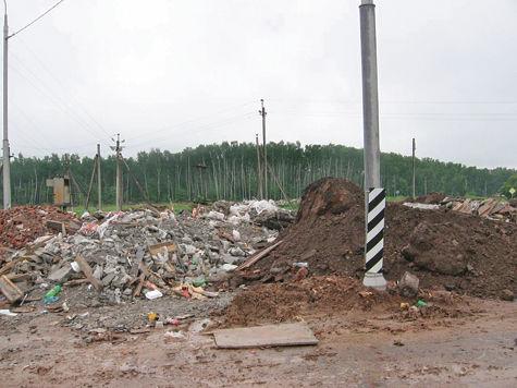 Подольский мусор с московской пропиской