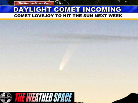 Частная обсерватория: К Солнцу приближается самая яркая за последние годы комета