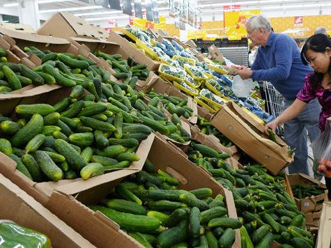 Овощи в Москве дорожают  непропорционально рынку