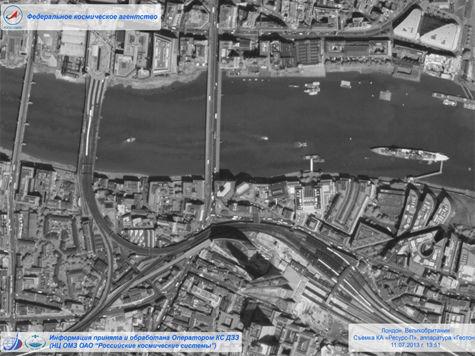 Российский спутник впервые сфотографировал жителей Лондона