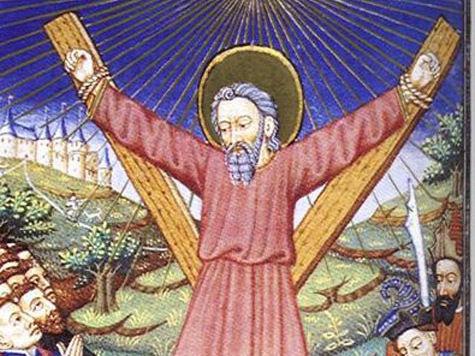В Россию привозят чудотворный крест, на котором был распят Андрей Первозванный