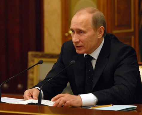 Путин высадил чиновников из иномарок