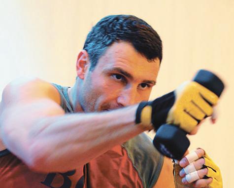 Виталий Кличко: «Боксировать со слабаками не имею права!»