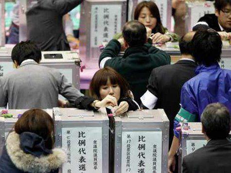 После победы на выборах в Японии правящей партии может быть пересмотрена Конституция