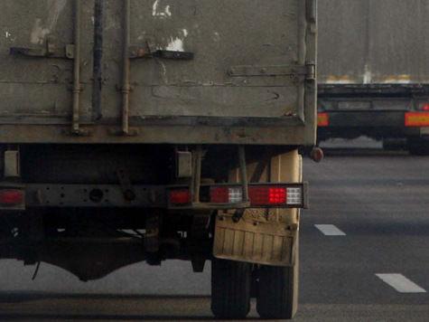 Протаранивший пять машин грузовик парализовал Садовое кольцо