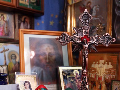 В  храмах Москвы  появятся иконы для слепых
