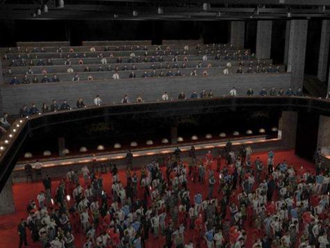 Концертный зал с самой длиной барной стойкой в Европе.