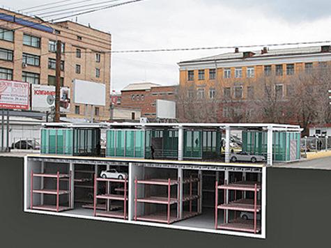 В Москве попробуют парковки по-корейски