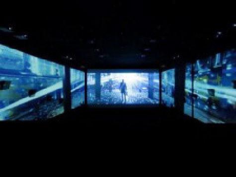 В Южной Корее показали фильм с обзором в 270 градусов