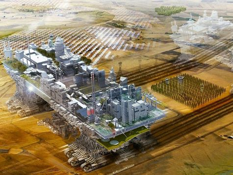 Архитектор из Испании предложил проект передвижного города