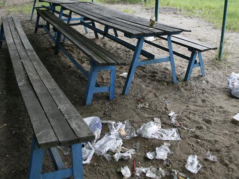 Потерянный пляж № 1 в Cеребряном бору нашелся