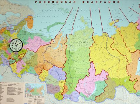 Территорию России разделят между госкомпаниями