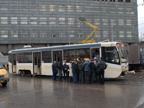 Трамваи отправят в летний отпуск