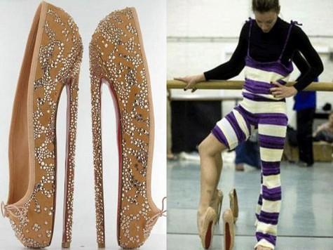 Ученые рассчитали идеальную высоту каблука идеальной женщины