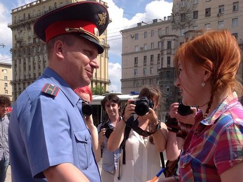 Монстрация в Москве закончилась задержаниями