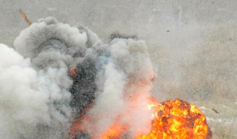 В центре Волгограда прогремел взрыв