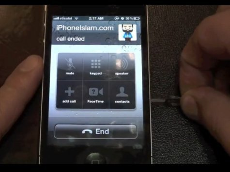 Получить личные данные владельцев iPhone можно с помощью канцелярской скрепки (ВИДЕОСХЕМА)