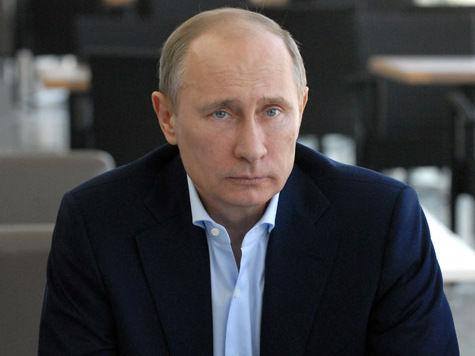 Путин — борцам за скот: «Нас бьют, а мы крепчаем!»