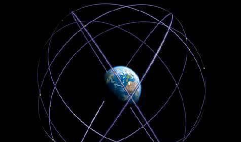 Спутниковая система навигации Galileo передала первый сигнал