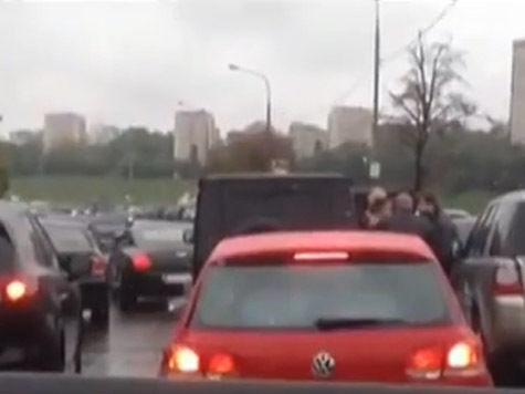 «Наглый кортеж», избивший водителя в Москве, сопровождает молдавского олигарха Илана Шора?
