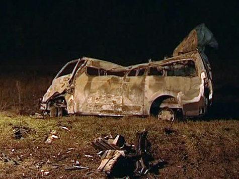 Приезжие из Узбекистана погибли в огненной автокатастрофе под Самарой