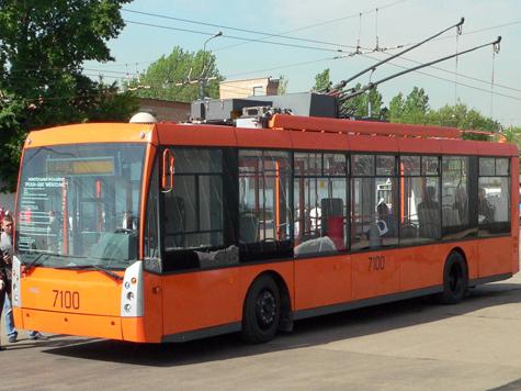 Троллейбусная сеть будет расти вместе с Подольском