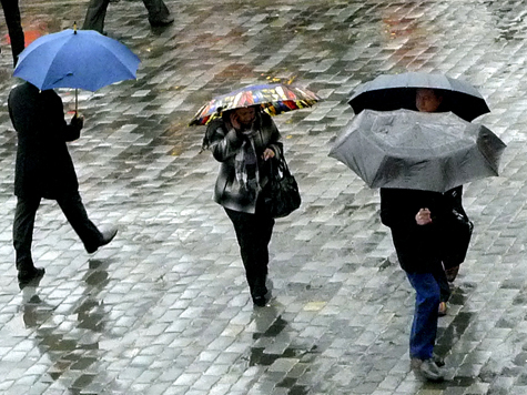 Дожди не помешают установиться летней жаре