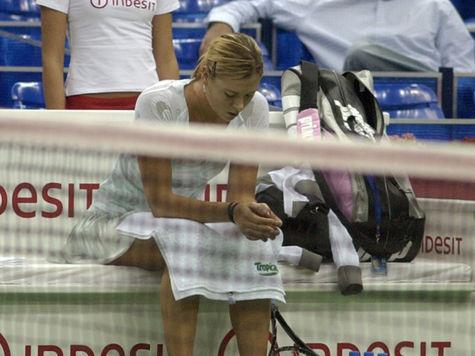 Мария Шарапова уволила тренера после первого же поражения
