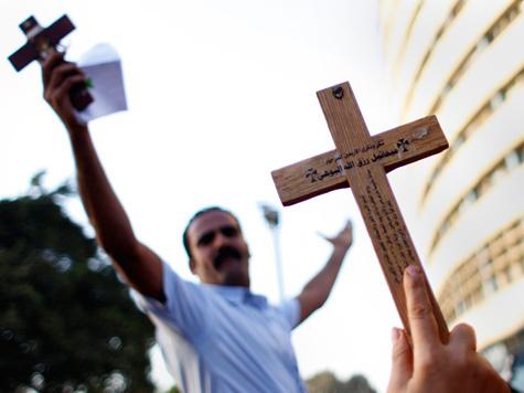 Кровь Христиан на площади Тахрир