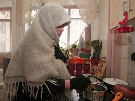 Военный городок Монино в Подмосковье замерзает