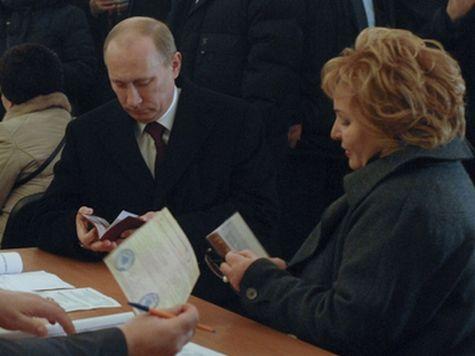 Путин снял обручальное кольцо во время антракта на балете