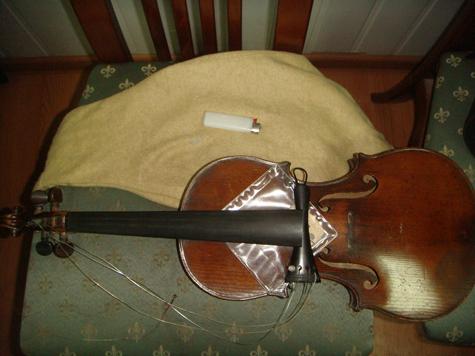 Воры отдали раритетную скрипку на хранение святым