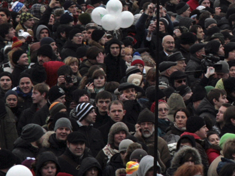 Рыжков зачитал резолюцию с требованиями митинга на Болотной