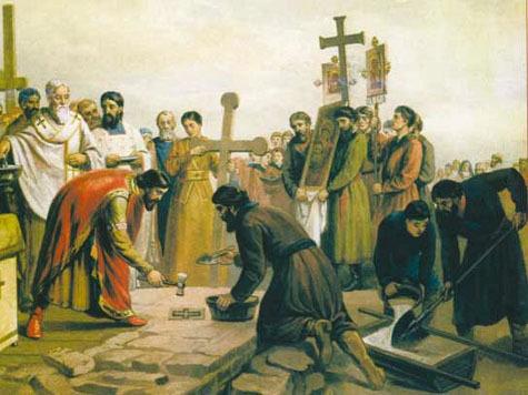 Легендарная первая церковь Древней Руси не переживет эту зиму