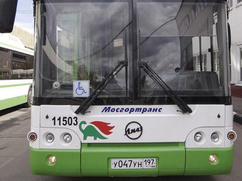 Столичные автобусы смогут объезжать пробки