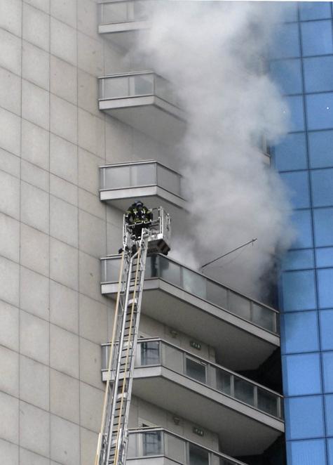 Ученые посоветовали, как лучше всего спасаться при пожаре