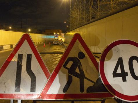 Автомобили перестанут пускать в Лефортовский тоннель