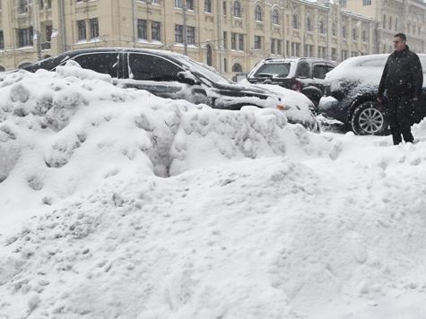 Москва — полюс холода